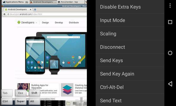 bVNC: Secure VNC Viewer apk screenshot