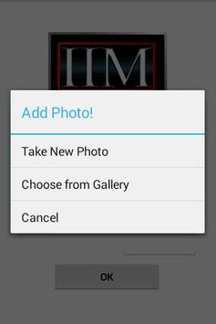 IIM Check In and Check Out apk screenshot