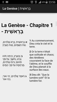 Tanakh, Parallel Hebrew-French apk screenshot