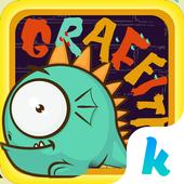 Graffiti Kika Keyboard Theme icon