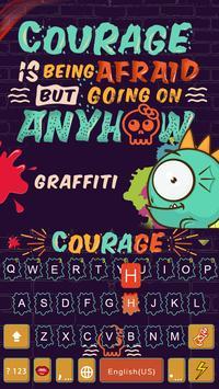 Graffiti Kika Keyboard Theme poster
