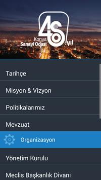 Konya Chamber Of Industry apk screenshot