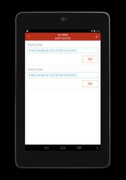 SQL SERVER QUERY & SCRIPT TOOL apk screenshot