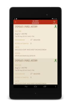 MONITOR SQL SERVER AGENT JOBS apk screenshot
