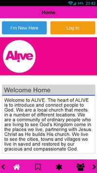 Alive Church poster