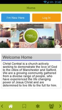 Christ Central Manchester poster