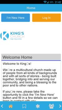 King's Church High Wycombe poster