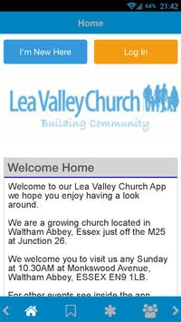 Lea Valley Church poster