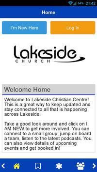 Lakeside Church poster