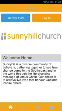 Sunnyhill Church poster