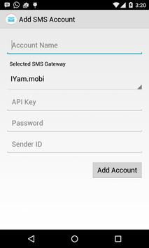 Internet SMS apk screenshot