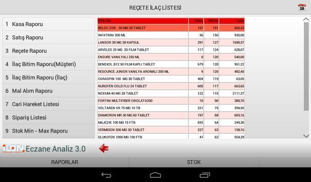 ilon Mobil Analiz HD apk screenshot