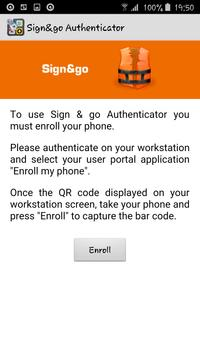 Sign&go Authenticator poster