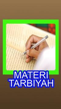 Materi Tarbiyah poster