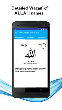 99 Allah & Nabi Names Wazaif poster