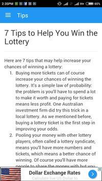 Illinois Lottery App Tips apk screenshot