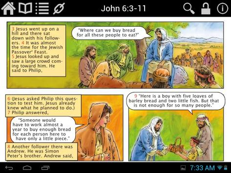 Illustrated Children's Bible poster