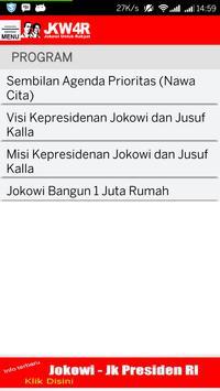 JKW4R - Jokowi JK Untuk Rakyat apk screenshot