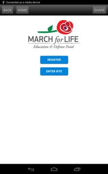 March For Life apk screenshot