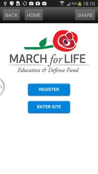 March For Life poster