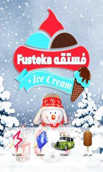 FUSTEKA ICE CREAM poster