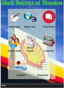 Shell Intern Houston poster
