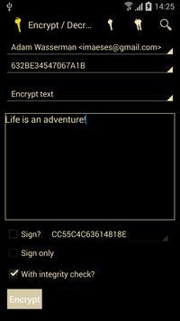 PGP KeyRing (Trial Version) apk screenshot