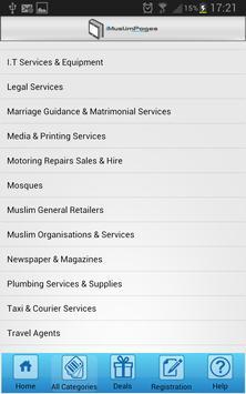 iMuslimPages apk screenshot