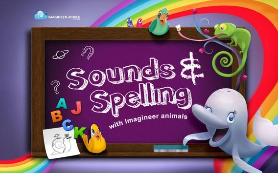 Sounds and Spelling poster