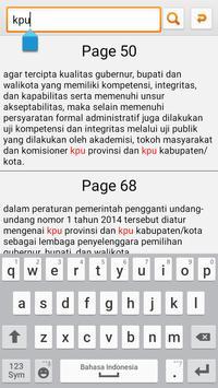 UU Pilkada apk screenshot