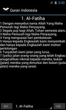 Quran Indonesia poster