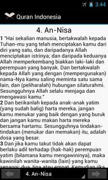 Quran Indonesia apk screenshot