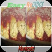 Manicotti Recipes icon
