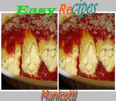Manicotti Recipes poster