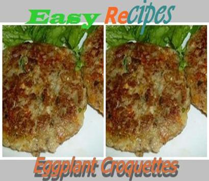 Eggplant Croquettes poster