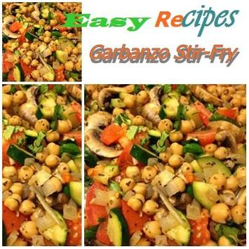 Garbanzo Stir-Fry poster