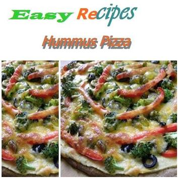 Hummus Pizza poster