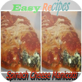 Spinach Cheese Manicotti icon