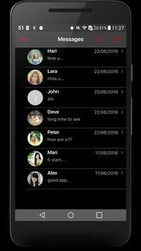 iMessenger OS10 PRO apk screenshot