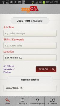 mySA Jobs apk screenshot