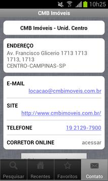 CMB Imóveis apk screenshot