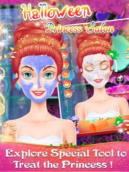 Halloween Princess Salon apk screenshot