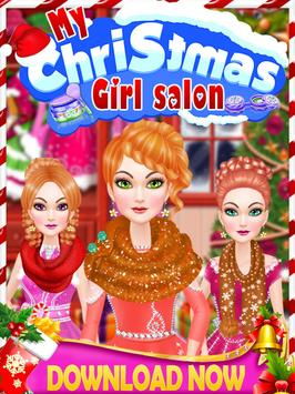 My Christmas Girl's Salon apk screenshot