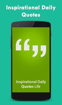 Inspirational Daily Quotes poster