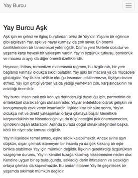Yay Burcu apk screenshot