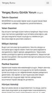 Yengeç Burcu apk screenshot