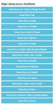 Akrep Burcu apk screenshot