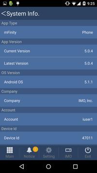 mFinity apk screenshot