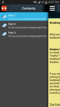 Body Building Book apk screenshot