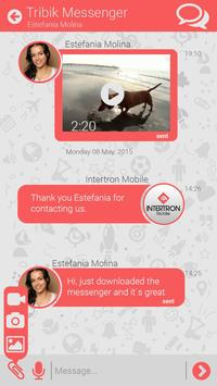 Tribik Messenger apk screenshot